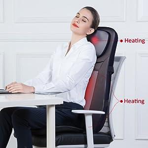 back masssager seat massage chars pads back massager seat cushion electric back massagers