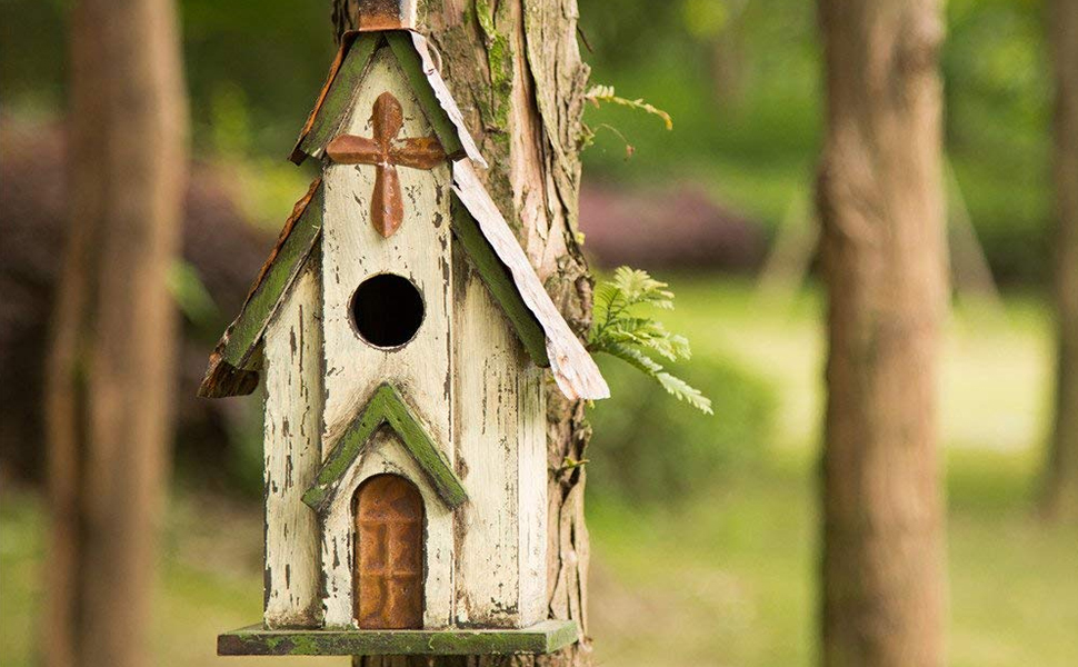 birdhouses for outdoors hanging