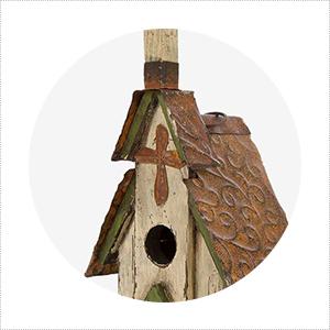 bird house for decor