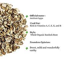 Burdock Organic Loose Tea Arctium - Purifying Tonic -