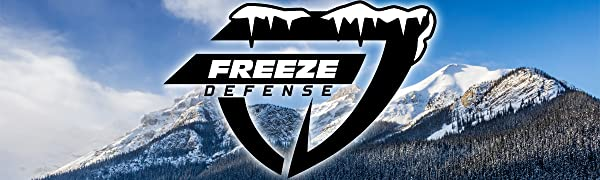 Freeze Defense men's winter coats and jackets are warm and and ready for snow and cold weather