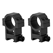 Heavy Duty Scope Rings and Flip-Up Lens Covers Included