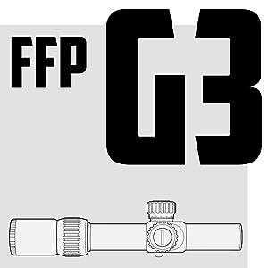 Monstrum Tactical FFP G3 Rifle Scopes