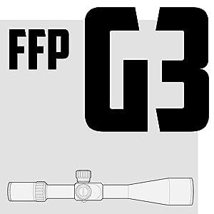 MONSTRUM TACTICAL G3 FFP RIFLE SCOPE