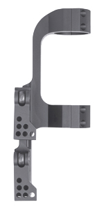 Monstrum Tactical Quick Release 1 in Scope Mount