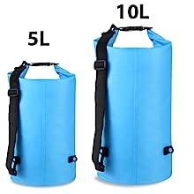 5L 10L dry bag waterproof dry sack