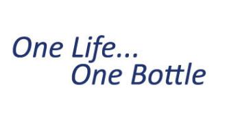 one bottle one life