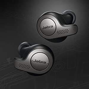 Jabra Elite 65t features an IP55*-rated design.
