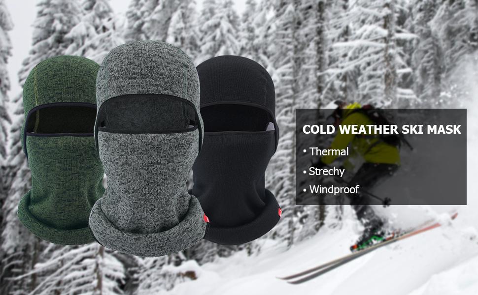 Thermal Fleece Balaclava Hood