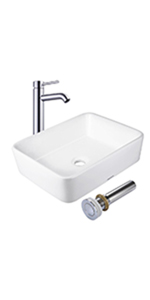 Amazon.com: Aquaterior - Grifo monomando para lavabo de baño ...