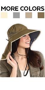Sun Hat w/ Neck Flap
