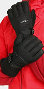 Double Black Snow Glove