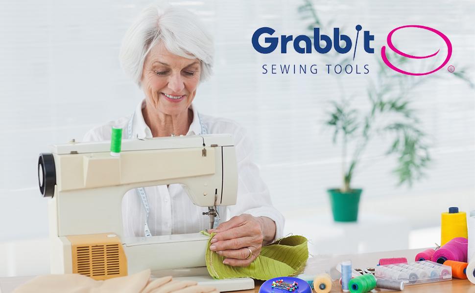 grabbit sewing tools pin cushion magnetic