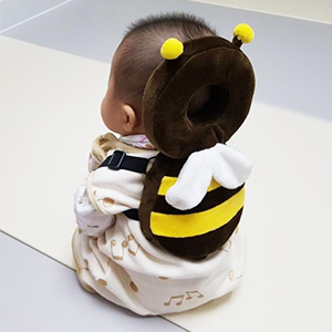 aguard, ikoong, baby head protection, baby head guard, baby safety, baby products, baby helmet