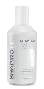healthier hair, thicker hair, fuller hair, shampoo, Shapiro MD, hair growth, hair loss, thinning