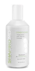 healthier hair, thicker hair, fuller hair, conditioner, Shapiro MD system, hair growth, hair loss,