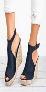 espadrille wedges sandals
