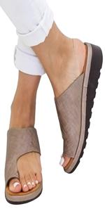 wedges slide sandals slippers
