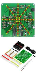 Gikfun Obstacle avoidance IR Infrared Sensor Module Reflective Photoelectric Light Intensity DIY Kit for Arduino UNO Pack of 5pcs EK1254x5 Esooho