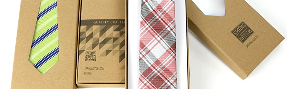 Boy's Ties in Gift Boxes