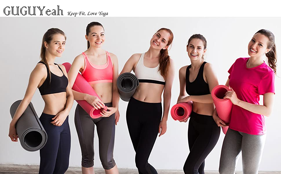 1838e7f6fe4b3 GUGUYeah Women's Workout Bootleg Yoga Pants Bootcut Leggings Active ...