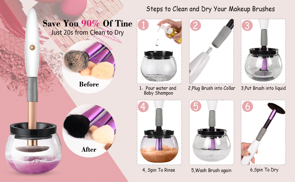 Image result for makeup brush cleaner miracleaner