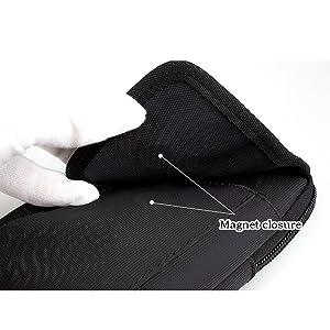 שקיות חגורה אופקיות לגברים