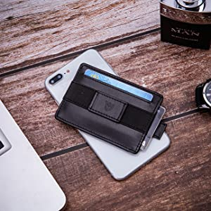 leather nwallet