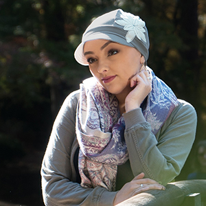 3dac6a33236 Chemo Hats for Women Cancer Headwear Headcoverings Soft Cotton Cute ...