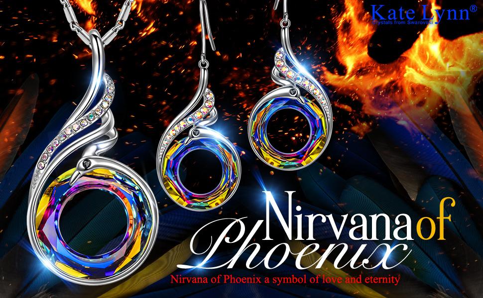 c9c7b624f Kate Lynn Woman's ❤️Nirvana of Phoenix❤ Swarovski Crystals ...