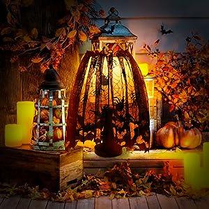 AerWo Halloween Lamp Shade Cover