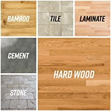 microfiber for hardwood laminate tile and all floor surfaces