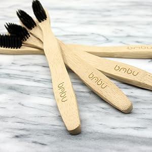 wood toothbrush handles