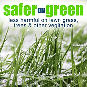 Safer on grass and vegetation. Trees, lawns and all grass types
