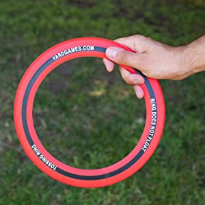 Soft Touch Tossing Rings