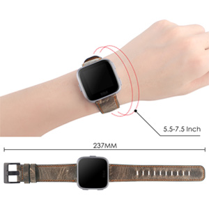 versa leather bands