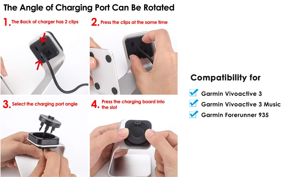Amazon.com: EZCO - Cable cargador compatible con Garmin ...