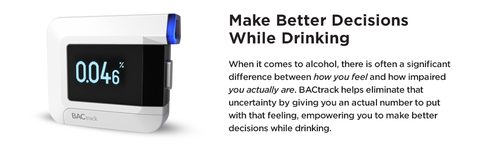 BACtrack C8 Breathalyzer | Professional-Grade Accuracy | Optional  Smartphone Bluetooth Connectivity to