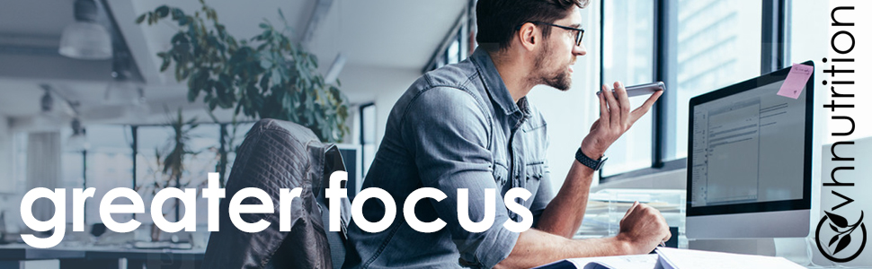 Greater Focus with Rhodiola