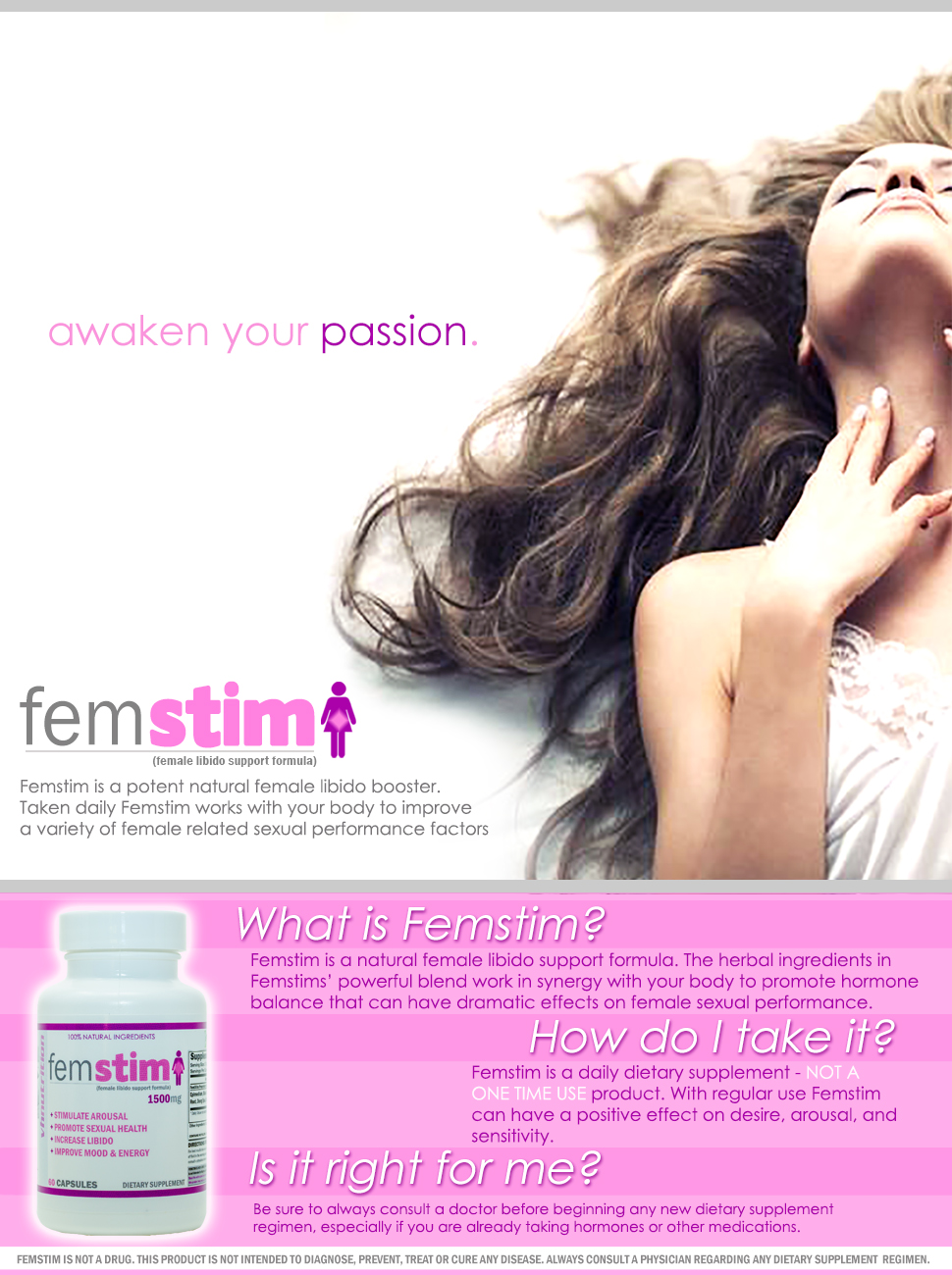 Womens sexual health enhancers