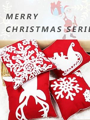 christmas pillow cover