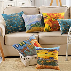 set of 5 pillowcase