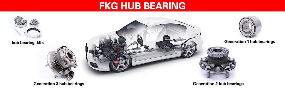 Amazon com: FKG HA590125 (AWD Models ONLY) Front Wheel Hub