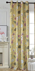 Amazon anady top yellow curtains white flower drapes 2 panel green tree curtains sun floral curtains yellow curtains bige curtains yellow black curtains blue yellow flower curtains mightylinksfo