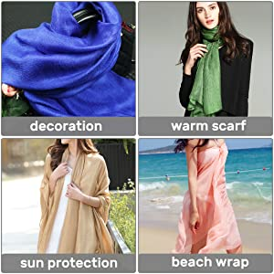wrap scarfs for various uses