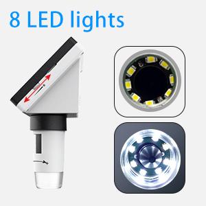8 Adjustable Led Lights