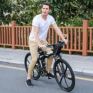 ancheer folding electric bike