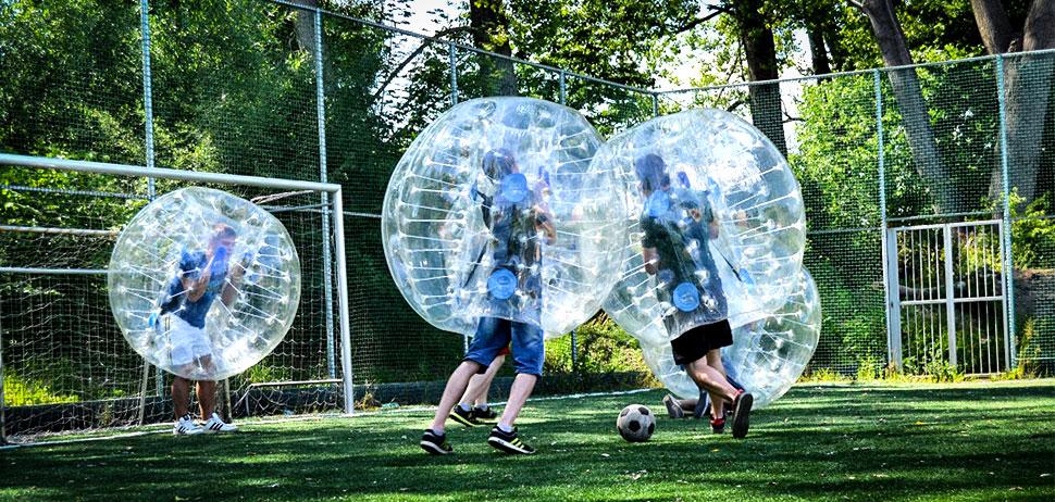 Inflatable Ball You Climb Into