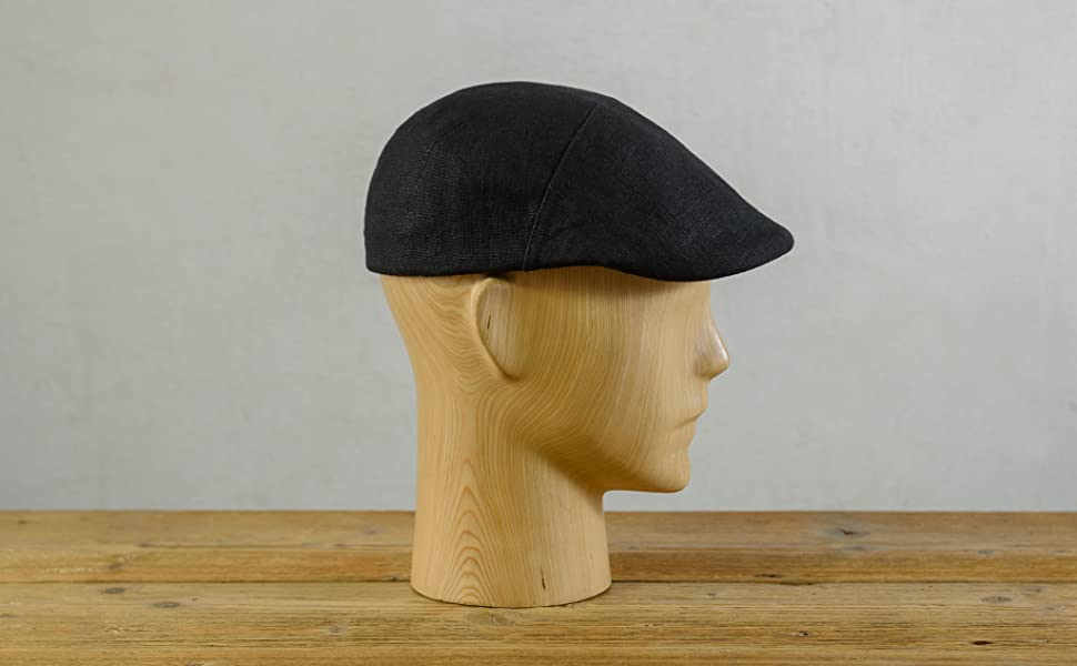 37be696be Sterkowski Light Breathable Linen Summer Vintage Flat Cap