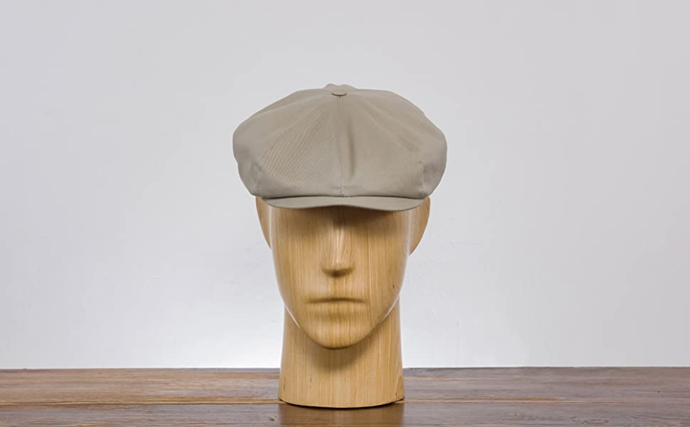 Sterkowski Peaky Blinders Shelby Mens Hats Newsboy Cap Cotton Summer Hat For Men Vintage Retro Gang
